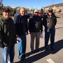 veterans day 2016, villas of oak park senior living mn, oak park heights minnesota