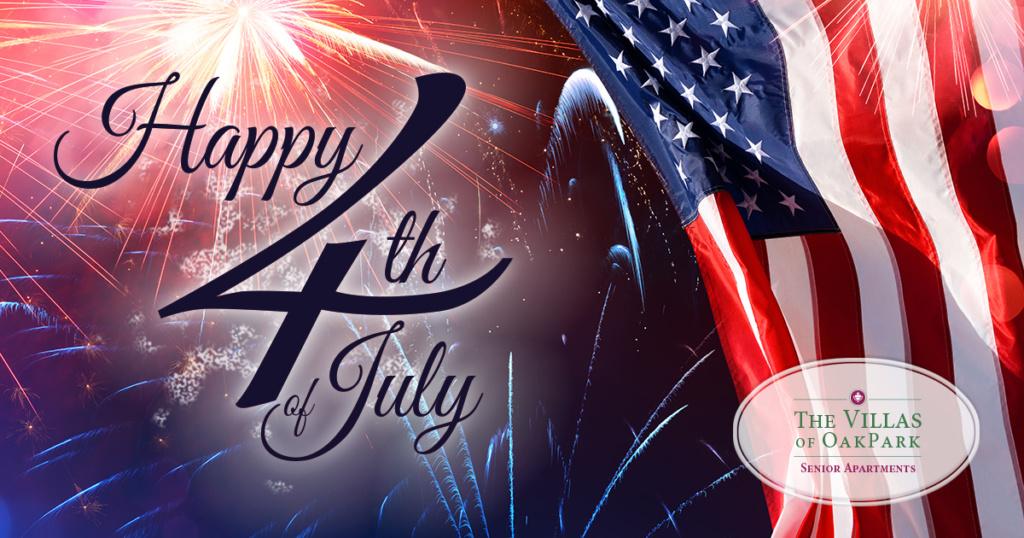 Villas of Oak Park-Happy Fourth of July
