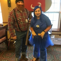 Up North Picnic-Villas of Oak Park-Paul Bunyan and the Blue Ox, Babe