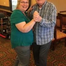 Alzheimers Fundraiser-Oak Park Senior Living-having fun dancing
