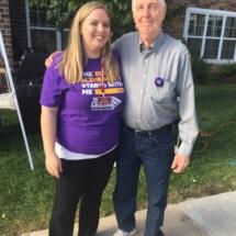 Alzheimers Fundraiser-Oak Park Senior Living-cute picture outside