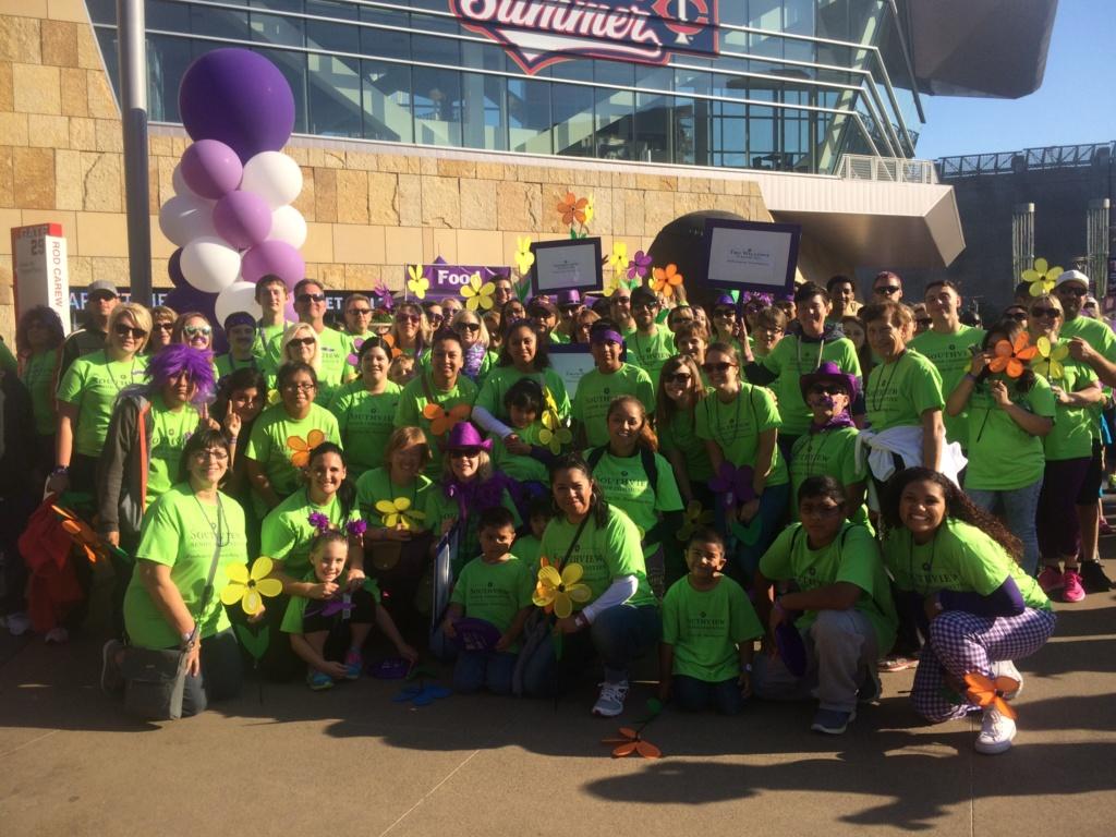 2016 Walk to End Alzheimer's-Southview Senior Communities-Southview Group Shot