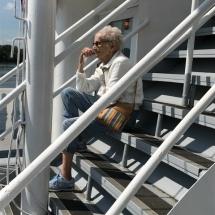 Stillwater Boat Ride-Villas of Oak Park-women resting on the steps
