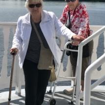 Stillwater Boat Ride-Villas of Oak Park-enjoying fresh air on the boat deck