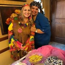 60's Themed Picnic-Oak Park Senior Living-60's outfits