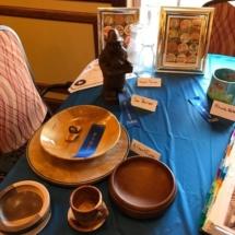 State Fair Celebration-Villas of Oak Park-closeup of wood crafts