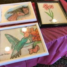 State Fair Celebration-Villas of Oak Park-wild life themed paintings