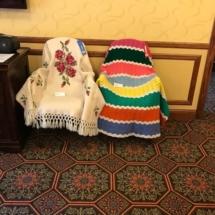 State Fair Celebration-Villas of Oak Park-beautiful knit blankets