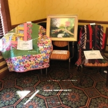 State Fair Celebration-Villas of Oak Park-pictures and some more knit blankets