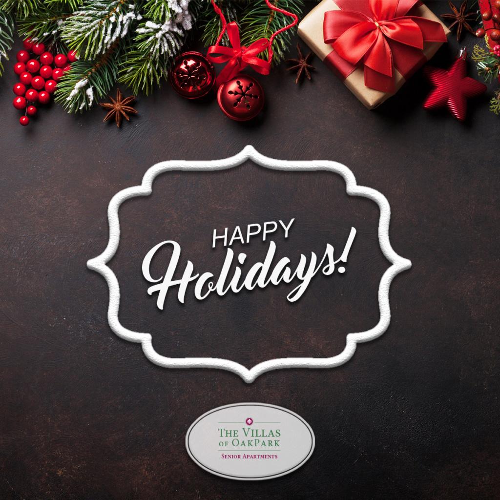 Happy Holidays from the Villas of Oak Park
