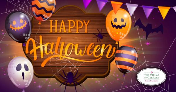 Happy Halloween from The Villas of Oak Park